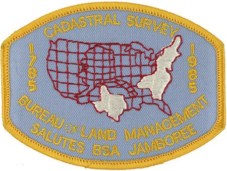 Boy scout 1985 national jamboree for Bureau land management