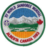 1983 World Jamboree Pocket Patch