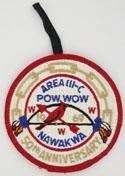 1969 Nawakwa Area III-C Pow Wow Pocket Patch
