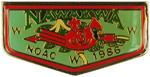 Nawakwa Lapel Pin NOAC 1986