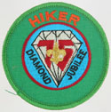 75th Anniversary Hiker