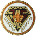 75th Anniversary Pin