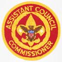 Assistant Council Commissioner 1973 - 89