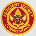 Assistant District Commissioner 1973 - 89
