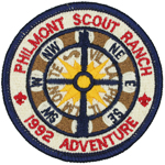 Philmont Adventure Patch 1992