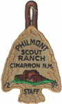Philmont Arrowhead Award STAFF 1957