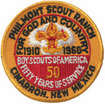 Philmont For God and Country 1910  1960