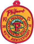 Philmont 38-78 Philturn 40th Anniversary