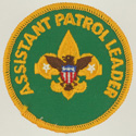 Assistant Patrol Leader 1972 - 89