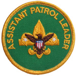 Assistant Patrol Leader 1976 - 89