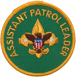 Assistant Patrol Leader 1972