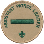 Assistant Patrol Leader 1989 - 02