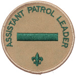 Assistant Patrol Leader 2010 - current