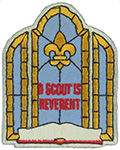 A Scout is Reverent Emblem