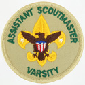 Assistant Scoutmaster Varsity 1989 - 93