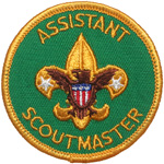 Assistant Scoutmaster 1973 - 76
