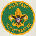 Assistant Scoutmaster 1973 - 89