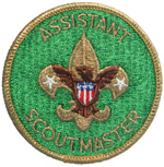 Assistant Scoutmaster 1972 - 75