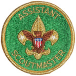 Assistant Scoutmaster 1972 - 82
