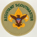 Assistant Scoutmaster 1989 - 02