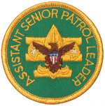 Assistant Senior Patrol Leader 1972 - 89