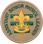 Assistant Senior Patrol Leader 2010 - Current