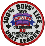 Boy's Life Unit Leader 1996