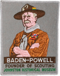 Baden Powell Back Patch