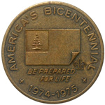America's Bicentennial BE PREPARED FOR LIFE 1974-1975