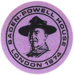 Baden Powell House London 1974