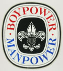 BOYPOWER MANPOWER - Decal
