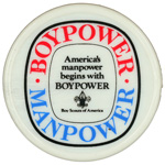 BoyPower ManPower Neckerchief Slide