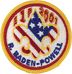 Baden Powell Patch 2001
