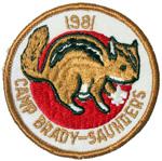 1981 Camp Brady Saunders