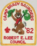 1982 Camp Brady Saunders