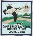 1987 Camp Brady Saunders