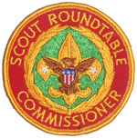 Scout Roundtable Commissioner 1973 - 89