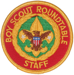 Boy Scout Roundtable Staff 1973 - 95