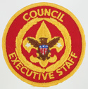Council Executive Staff 1973 - 89