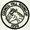 Council Fall Round-Up 1958