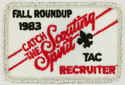 Catch The Scouting Spirit Roundup Recruiter 1983