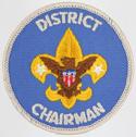 District Chairman 1973 - 89
