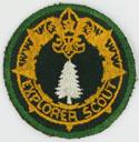 Explorer Scout Woodsman 1944 - 49