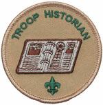 Troop Historian 2002 - 10