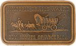 Historic Trails Award Leather