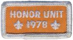 Honor Unit 1978