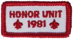 Honor Unit 1981