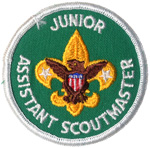 Junior Assistant Scout Master 1972 - 89