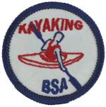 Kayaking Emblem