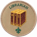 Troop Librarian 2010 - Current
